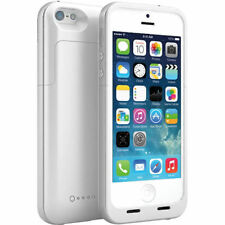 White Charger Case Backup Battery For iPhone 5 5S 2 Years Warranty