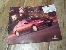 Prospectus / Brochure HONDA Civic 5 Portes 1997 //