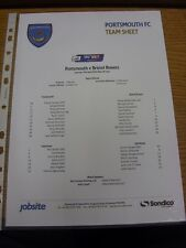 19/04/2014 Colour Teamsheet: Portsmouth v Bristol Rovers  . Thanks for viewing o