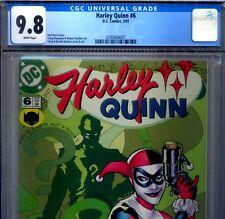 PRIMO:  HARLEY QUINN #6 NM/MT 9.8 CGC 2001 HIGHEST Suicide Squad DC movie comics