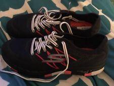 Skechers USA In 14017 Go Flex Momentum Women's Lace Up Walking Shoes Size 6 Blue