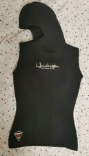 HENDERSON 7/5mm Hooded Vest Wetsuit VERY WARM save a dive with this WMS Sz4