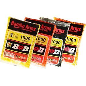 Best Quality Airsoft Gun Bullets 0.12 Gram 6 mm BB's Pellets Ammo 1000 per Bag