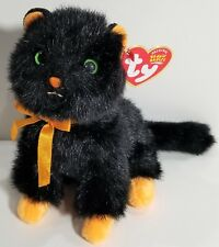 """TY Beanie Babies """"JINXY"""" the Black HALLOWEEN Cat - MWMTs! HTF Ty Store Exclusive"""