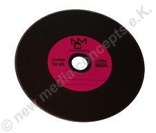 Vinyl CD-R Carbon,10 Stück ,700 MB zum archivieren, in Papiertasche, Label: lila