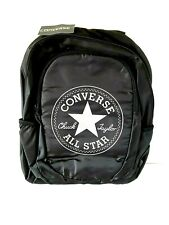 Converse All Star Logo Black Backpack Rucksack Bag - New With Tags