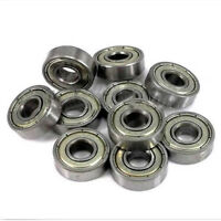 608ZZ Deep Groove Miniature Ball Bearing Miniature Bearings 8x22x7mm 10PCS