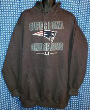 badcdf43d New England Patriots Superbowl LI Champions Gray Majestic Hoodie NWOT - Mens  2XL