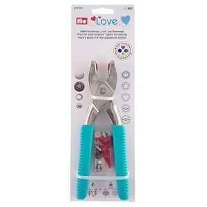 Pince Vario Prym Love boutons pression œillets rivets Inclus outils Color Snaps