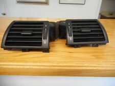 BMW E46 LEFT AND RIGHT SIDE DASH A/C HEATER CLIMATE VENT BLACK OEM
