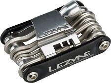 Lezyne RAP 21 Co2 21 Function Multi Tool Aluminum Black Sides