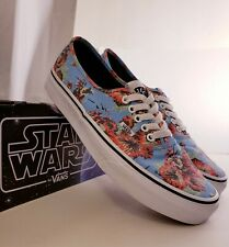 Vans X Star Wars Authentic (Yoda Aloha) Mens Size 9.5