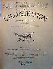 L' ILLUSTRATION No 4183 . 5 mai 1923 . Le Mont Saint Michel .