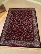 Kara Shah Karastan Rose Sarouk Area Rug - design 500-1007 - c. 4' x 6'