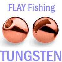 10 er Set Tungsten Perlen Beads Farbe Schwarz 3,5 mm 3g Forelle Angeln Binden