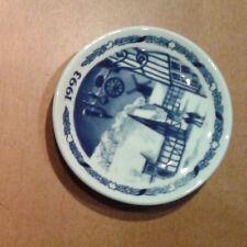 ROYAL COPENHAGEN PLAQUETTE NATALE 1993 piattino ceramica Denmark Fajance