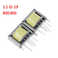 2Pcs audio output transformer 1:1 EI-19 EI19 800:800 high NM