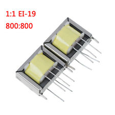 2Pcs audio output transformer 1:1 EI-19 EI19 800:800 high quality MOI