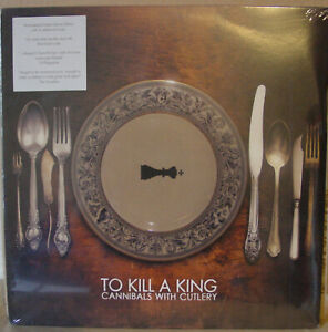 To Kill A King - Cannibals With Cutlery double LP, white vinyl. Still sealed.
