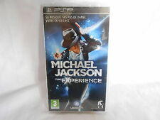 Jeu PSP MICHAEL JACKSON The Experience