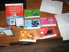 Tintin-Série complète 5 cartes Mobib-tirage limité-visuels issus des bd-épuisé