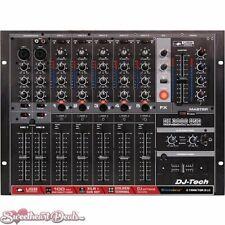 DJ-Tech DX 3000 USB Professional 7-Channel USB DJ Mixer