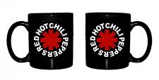 Official Red Hot Chili Peppers - Asterisk Logo - Boxed Ceramic Mug BLACK