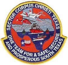 Sector Corpus Christi Texas arc W4403 Uscg Coast Guard patch