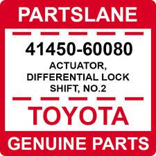 41450-60080 Toyota OEM Genuine ACTUATOR, DIFFERENTIAL LOCK SHIFT, NO.2