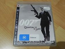 007 QUANTUM OF SOLACE  (PS3 GAME)