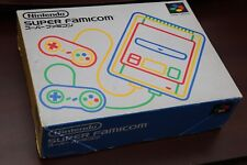 Nintendo Super Famicom console's box and manual only US seller please read