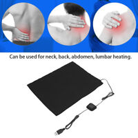 DC5V 3-Shift USB Electric Cloth Heater Pad Heating  for Pet Warmer Black