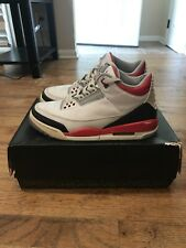 2013 Jordan 3 Fire Red Size 8.5 With Box (USED CONDITION SEE PICS)