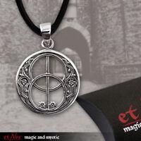 Echt etNox Chalice Well Anhänger Silber Gothic Schmuck - NEU