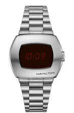 New Hamilton American Classic PSR Digital Stainless Steel Men's Watch H52414130