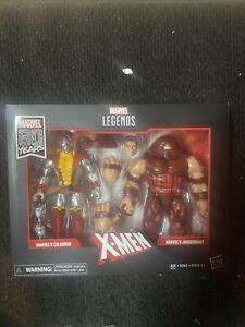 COLOSSUS vs JUGGERNAUT X-Men Marvel Legends 2019 Figure 80th Anniversary 2-Pack