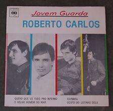 "7"" EP Roberto Carlos  Jovem Duarda  CBS Brasilien 1965"