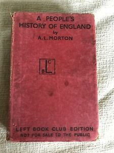 1938*1st* A People's History Of England - A. L. Morton(Left Book)