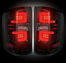 RECON 264238BK 14-16 CHEVY SILVERADO/GMC SIERRA DUALLY SMOKED LED TAIL LIGHTS