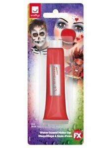 Red Cream Make Up Face Paint Halloween Fancy Dress 28ml