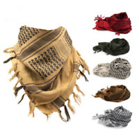 Muslim Hijab Shemagh Tactical Desert Arabic Scarf  Scarves Men Windproof Scarf