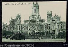 1868.-MADRID -Plaza de Castelar y Casa de Correos