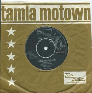 Stevie Wonder:Living for the city/VisionsUK Tamla Motown:UK TMG 881