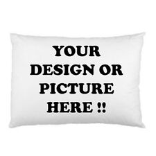 Personalized Custom Logo, Design, Photo, Text pillow case one side free shipping