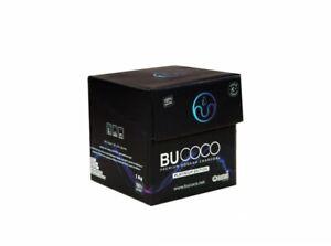 BuCoco Premium Coconut Charcoal for Hookah Coal Shisha 1 KG Cubes - USA SHIPPING