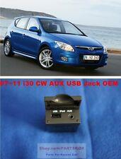 Fit 07~ 11 Hyundai i30 i30CW AUX ipod USB Jack Assy for Console  Genuine part