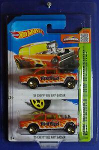 2015 Hot Wheels '55 Chevy Bel Air Gasser Heat Fleet 207/250 Short/Long card set