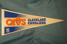 1990's Cleveland Cavaliers NBA Basketball Wincraft Logo Felt Pennant