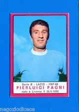 # CALCIATORI PANINI 1967-68 - Figurina-Sticker - PAGNI - LAZIO - Rec
