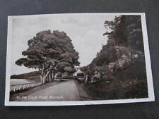 On the Cloch Road Gourock UK Postcard Postmarked